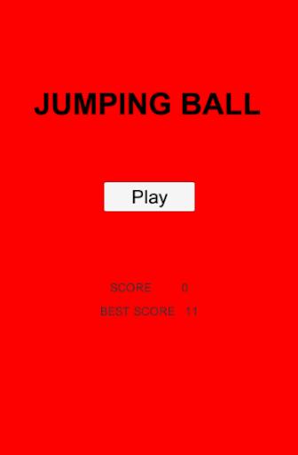 Jump Ball Avoid Brick
