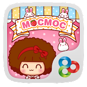 Hello Mocmoc GO Launcher Theme