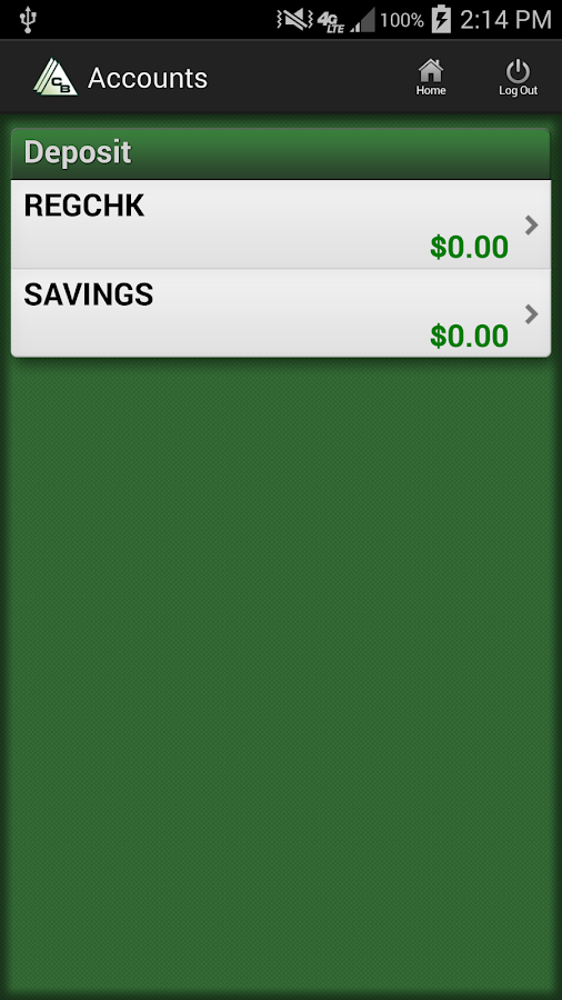Commercial Bank for Android - screenshot