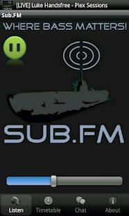 Sub FM- screenshot thumbnail