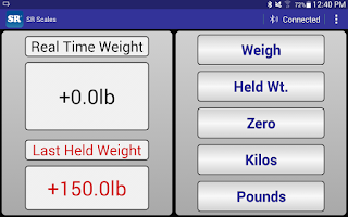 Screenshot of SR Scales
