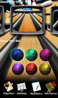 Screenshot of 3D Bowling