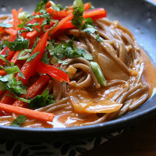Curried Soba Noodle Soup.