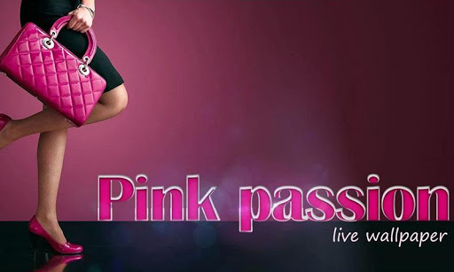Pink Passion Live Wallpaper
