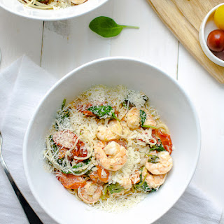 Shrimp Pasta Lite