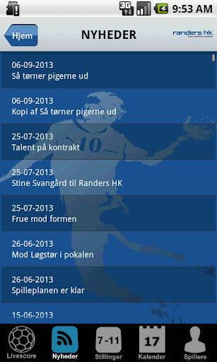 【免費運動App】Randers HK-APP點子