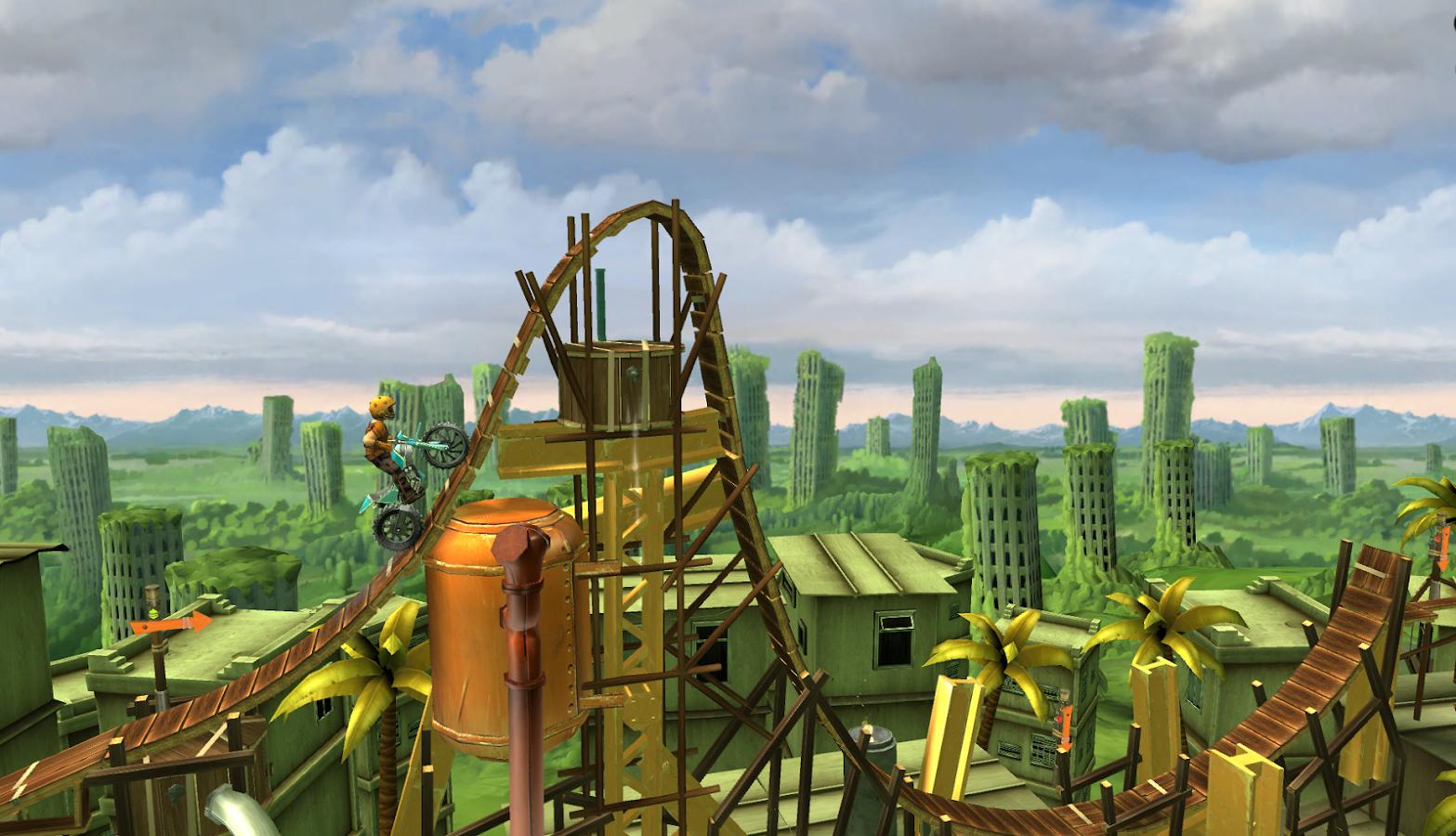 Trials Frontier - screenshot