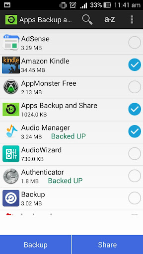 Apps Backup and Share
