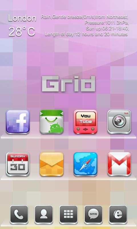 Grid GO Reward Theme - screenshot