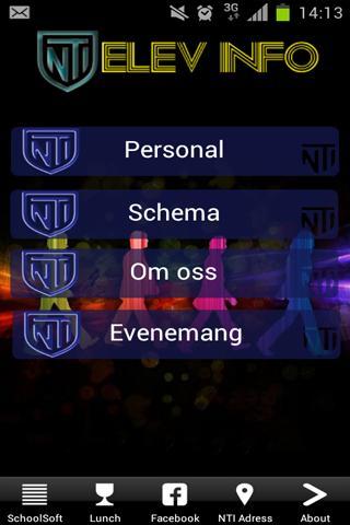 NTI Elev info