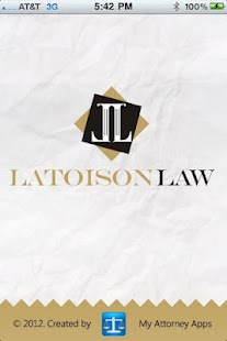 Latoison Law App- screenshot thumbnail
