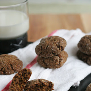 Ginger Molasses Chewy Cookies.