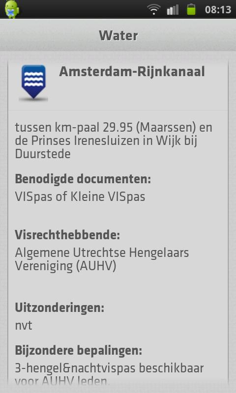 VISplanner - screenshot