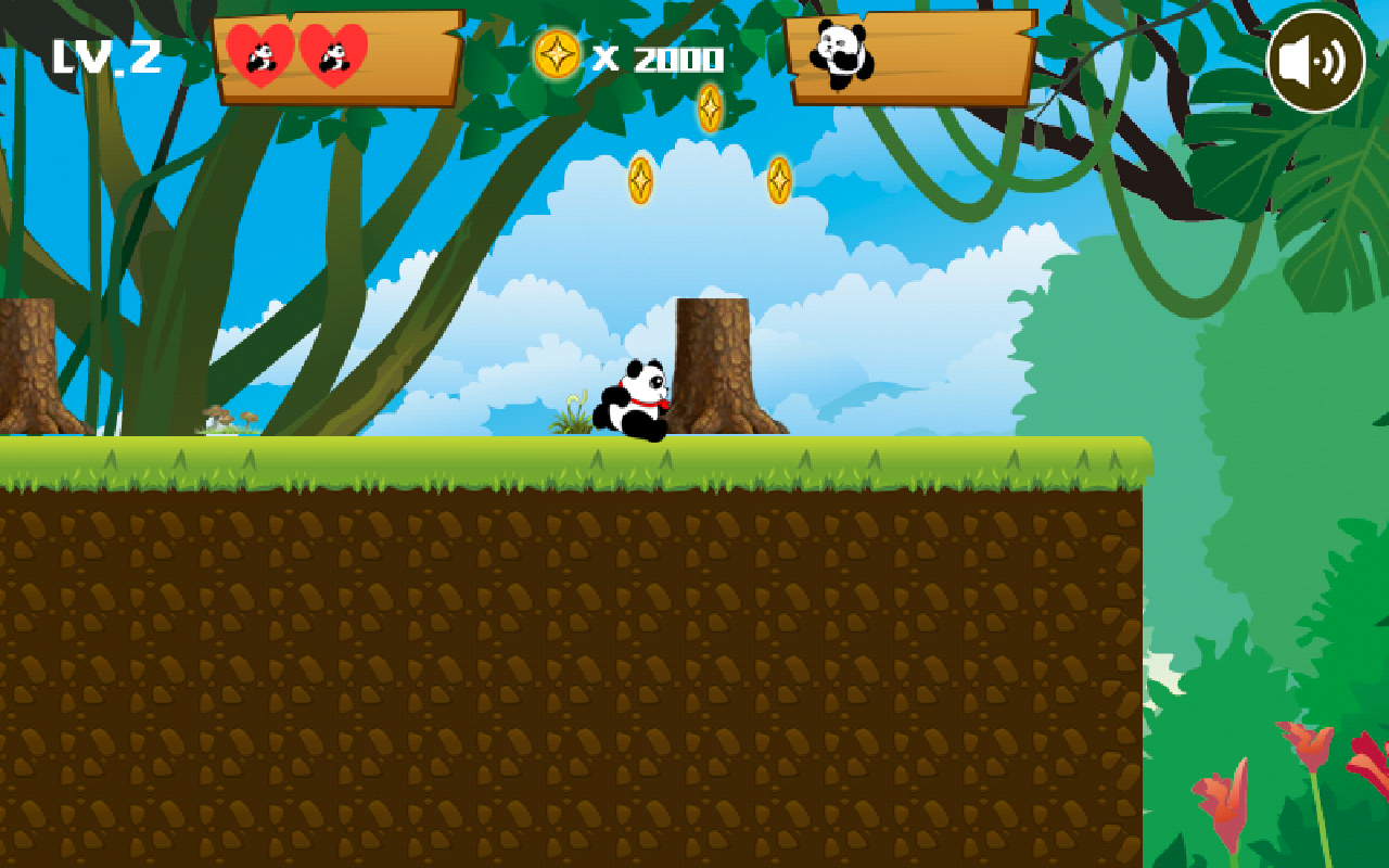 Jungle Panda Run- screenshot