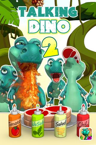 Talking Dinosaur - screenshot