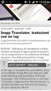 Inapp Translator Screenshot 1