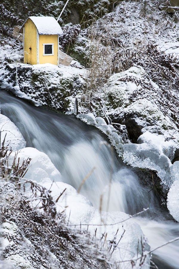 A tiny pumphouse in the middle of nowhere by Sara Skog - Uncategorized All Uncategorized