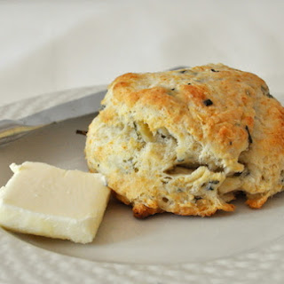 Flaky Herb Biscuits.