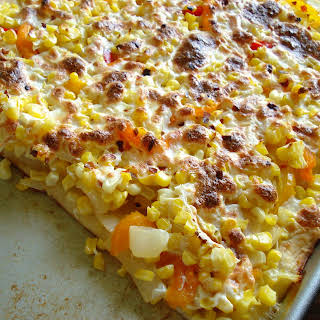 Summer Corn Pizza.