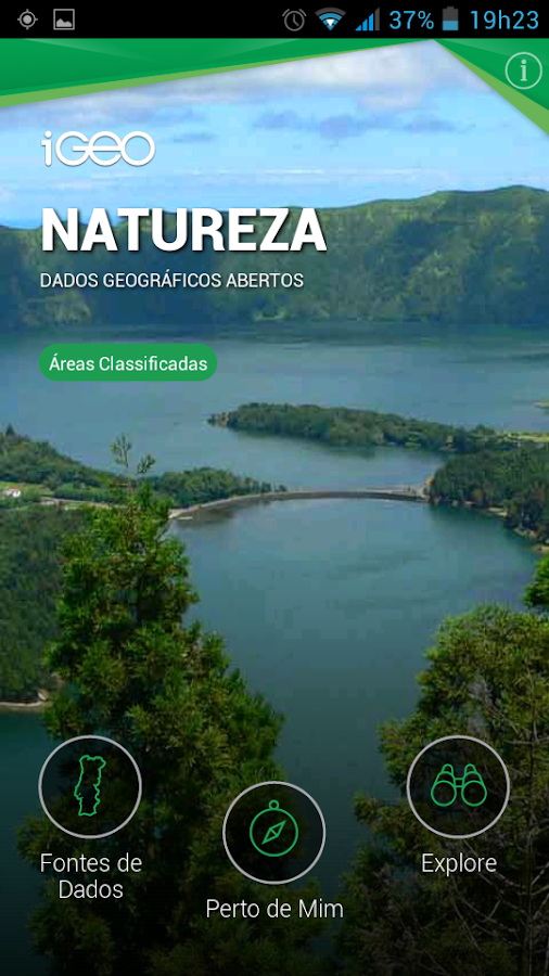 iGeo Natureza- screenshot