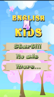 Screenshot of English for kids learning free