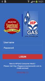 HP GAS App - screenshot thumbnail