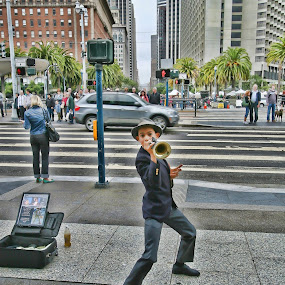 san francisco by Elvis Gutierrez - People Musicians & Entertainers