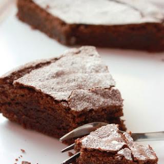 Chocolate Almond Cake.