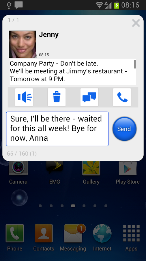 Sprint Messenger Legacy- screenshot