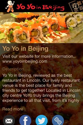 Yo Yo in Beijing