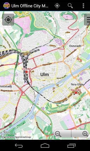 Ulm Offline City Map