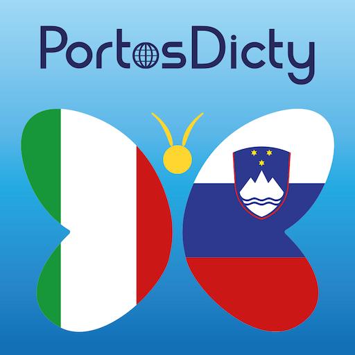 PortosDicty Ita-Slo LOGO-APP點子