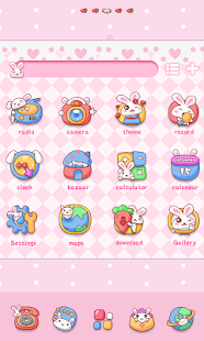 Rabbit GO Launcher Theme - screenshot thumbnail