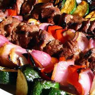 Barbecued Citrus Lamb Kebabs