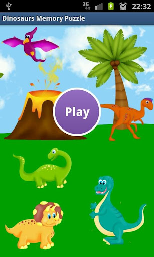 【免費解謎App】Fun Dinosaur Kids Memory Game-APP點子