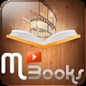 멀티미디어 전자책 M-Books(엠북스,Mbooks) logo