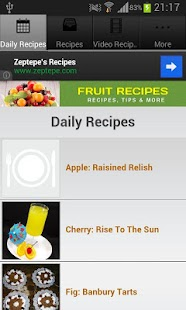 Fruit Recipes!- screenshot thumbnail
