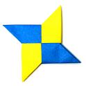 Ninja Star Origami logo