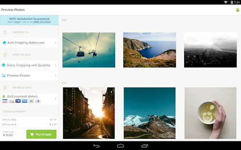 Kicksend: Share & Print Photos - screenshot thumbnail
