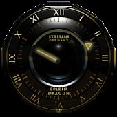 Golden Dragon Clock Widget