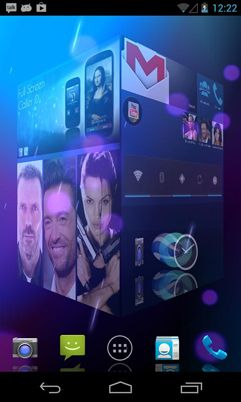 HD 3D Launcher PRO - screenshot