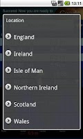 Screenshot of UK Tides