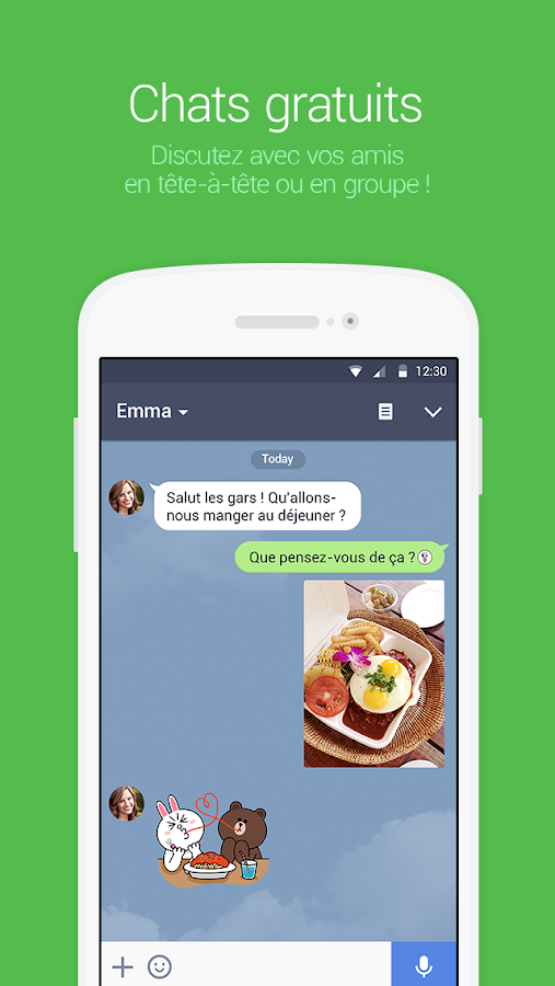 LINE: Appel & message GRATUITS – Capture d'écran