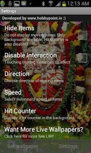 Tirupati BALAJI Live Wallpaper- screenshot thumbnail