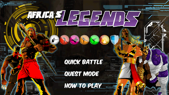 Africa's Legends - The Game- screenshot thumbnail