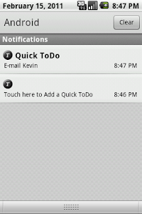 Quick ToDo List screenshot 2