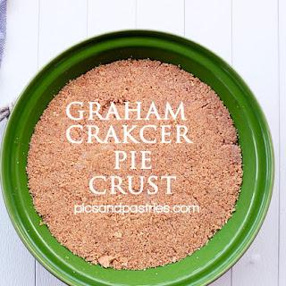 Homemade Graham Cracker Pie Crust.