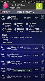abc27 Weather - Harrisburg, PA - screenshot thumbnail
