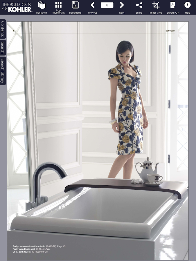 Kohler Catalogs- screenshot