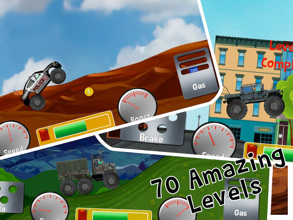 monster truck racing game android apps on google play